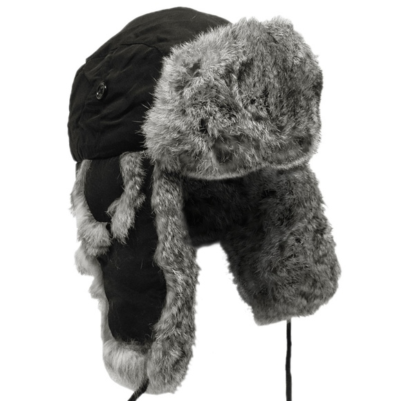 Dockers Other - Dockers Genuine Rabbit Fur Trapper Hat 5bfc3833732